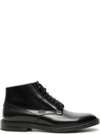 Dolce & Gabbana Marsala Ankle Boots