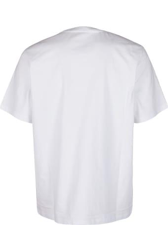 MSGM White Cotton T-shirt
