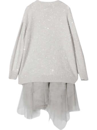 Brunello Cucinelli Gray Dress