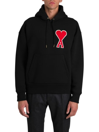 Ami Alexandre Mattiussi Hoodie With Patch