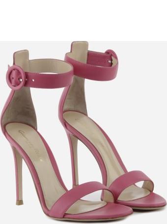 Gianvito Rossi Portofino 105 Leather Sandals