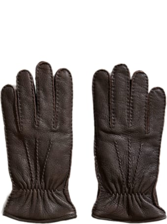 Fay Gloves In Soft Leather