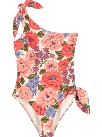 Zimmermann One-shoulder Swimsuit