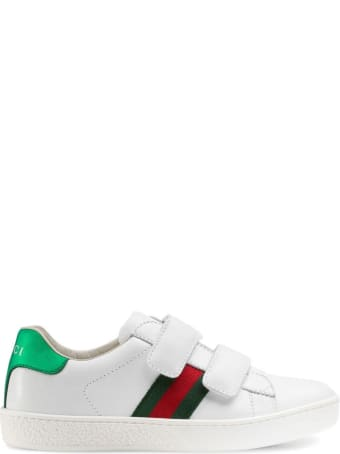 Gucci Ace Leather Sneakers