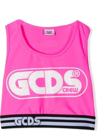 GCDS Pink Tank Top