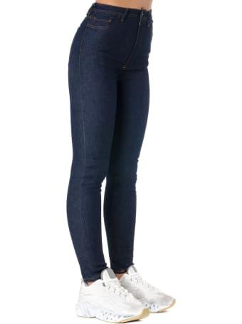 Acne Studios Denim Stretch Skinny Fit Jeans