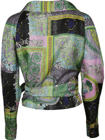 Versace All-over Printed Top