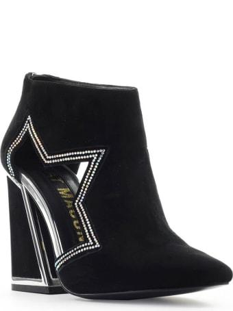 Kat Maconie Black Suède Dusty Ankle Boot