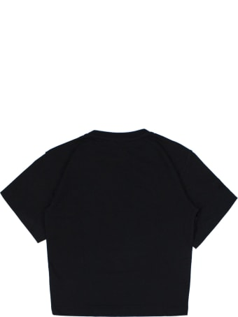 Fendi Black Cotton T-shirt