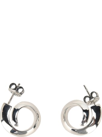 Bottega Veneta Coiled Hoop Earrings