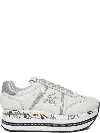 Premiata White Beth Sneakers