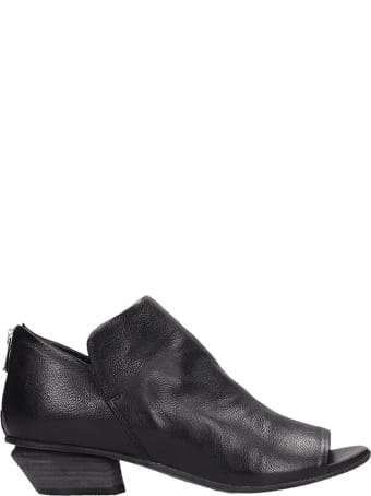 Officine Creative Black Leather Alizee Ankle Boost
