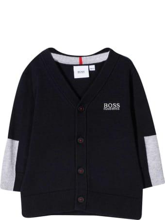 Hugo Boss Two-tone Cardigan