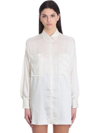 IRO Orfine Shirt In Beige Viscose