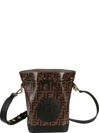 Fendi Logo Bucket Bag