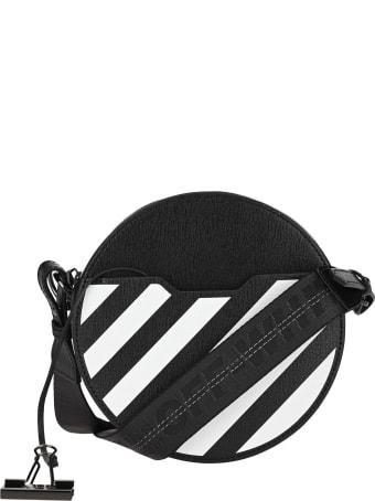 Off-White Off White Diag Round Bag