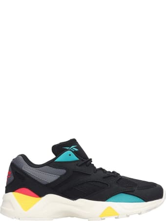 Reebok Aztrek 96 Sneakers In Black Leather