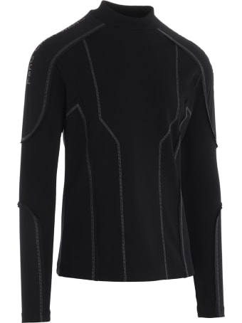 Feng Chen Wang 'mock Neck Active Wear' Sweater