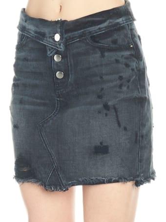 AMIRI 'fold Over' Skirt