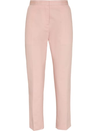 Marni Cotton-linen Tailored Trousers
