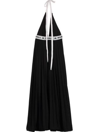 Kappa Kontroll Plated Skirt Midi Dress
