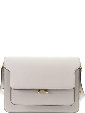 Marni Trunk Bag In Mono-coloured Saffiano Calfskin