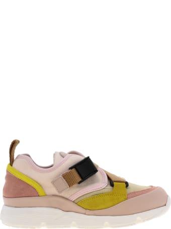 Chloé Sneaker Baskets Pink Ice