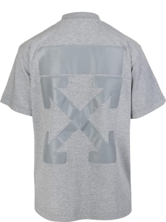 Off-White Woman Grey Arrow T-shirt