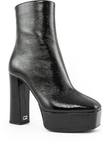 Giuseppe Zanotti Black Leather Morgana Boots