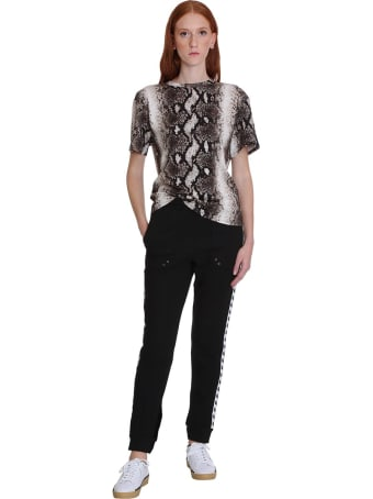 Fred Perry T-shirt In Animalier Cotton