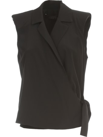 Federica Tosi Shirt W/s Revers Neck