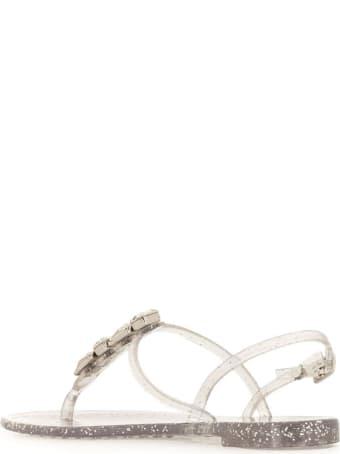 Casadei Jelly Glitter Sandals