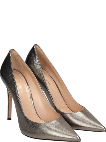 Lerre Pumps In Grey Leather