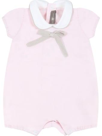 Little Bear Pink Romper For Baby Girl