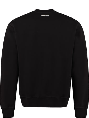 Dsquared2 Cotton Crew-neck Sweatshirt