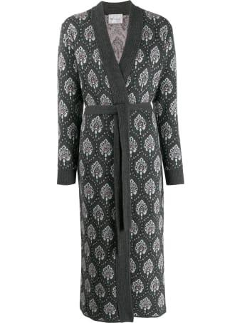 Be Blumarine Jacquard Coat