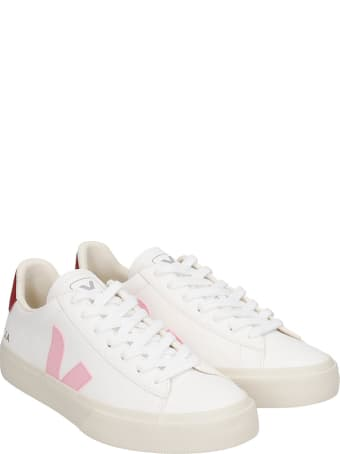 Veja Campo  Sneakers In White Leather