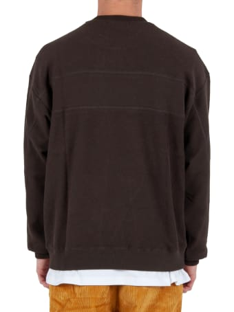 Futur Inside Out G Fit Crew - Brown