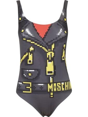 Moschino Printed Swimsuit