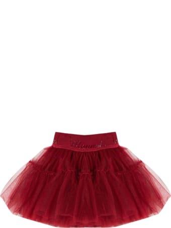 Monnalisa Monnalisa Red Tulle Skirt
