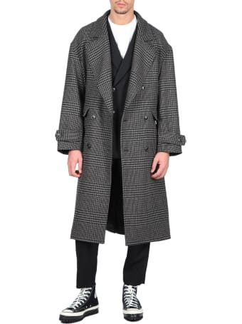 lownn Double Breasted Overcoat