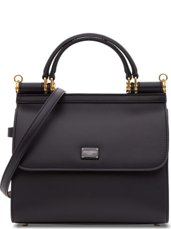 Dolce & Gabbana Sicily 58 Small Handbag In Leather