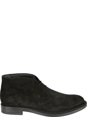 Tod's Classic Lace Ankle Boots