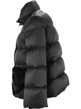 Fay Faux Fur Down Jacket