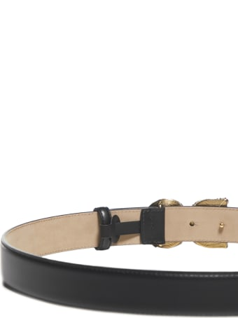 Dolce & Gabbana Logo Dg Amore Belt