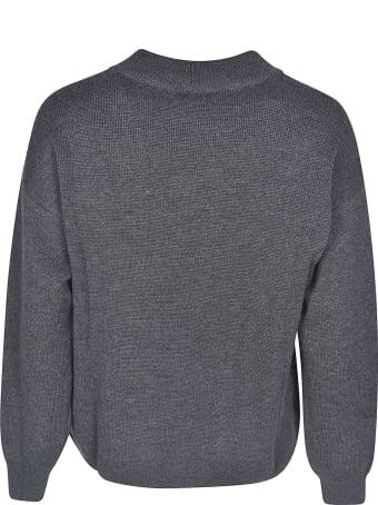 Emporio Armani Logo Embroidered Sweater