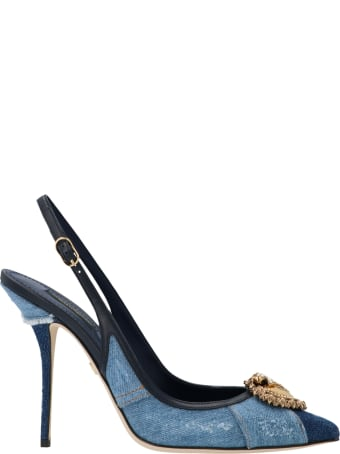 Dolce & Gabbana 'patch Denim' Shoes