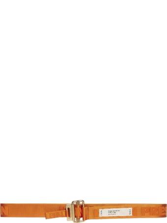 HERON PRESTON Logo Jacquard Canvas Belt