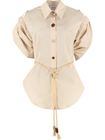 Nanushka Tammi Cotton Poplin Shirt