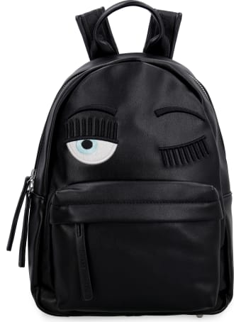 Chiara Ferragni Flirting Small Faux Leather Backpack